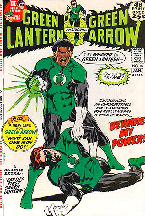 1st John Stewart in Green Lantern